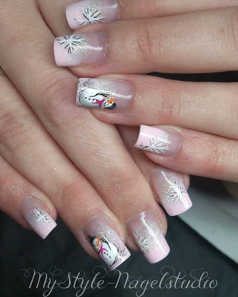stylish acrylic nail design ideas 2019 12 - Stylish Acrylic Nail Design Ideas 2019