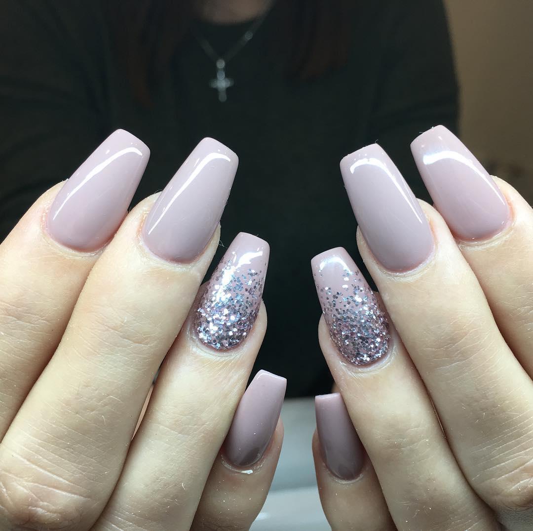 stylish acrylic nail design ideas 2019 16 - Stylish Acrylic Nail Design Ideas 2019