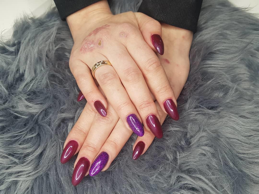 stylish acrylic nail design ideas 2019 2 - Stylish Acrylic Nail Design Ideas 2019