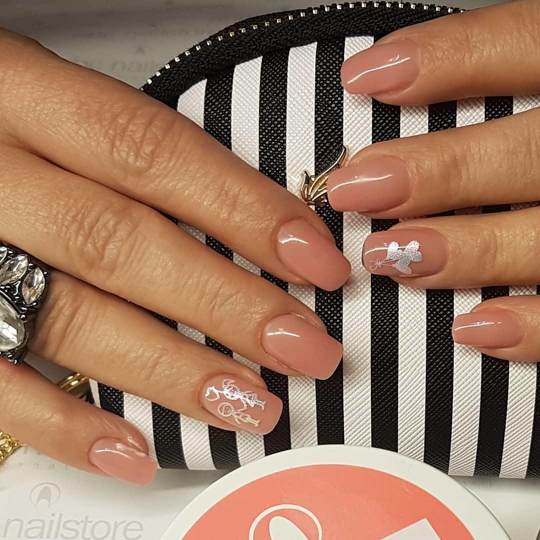 stylish acrylic nail design ideas 2019 5 - Stylish Acrylic Nail Design Ideas 2019