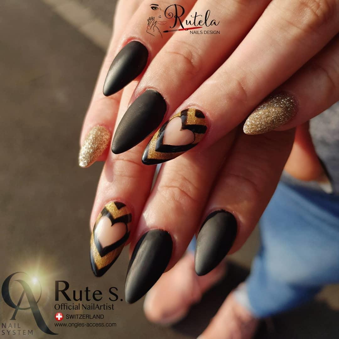 stylish acrylic nail design ideas 2019 6 - Stylish Acrylic Nail Design Ideas 2019