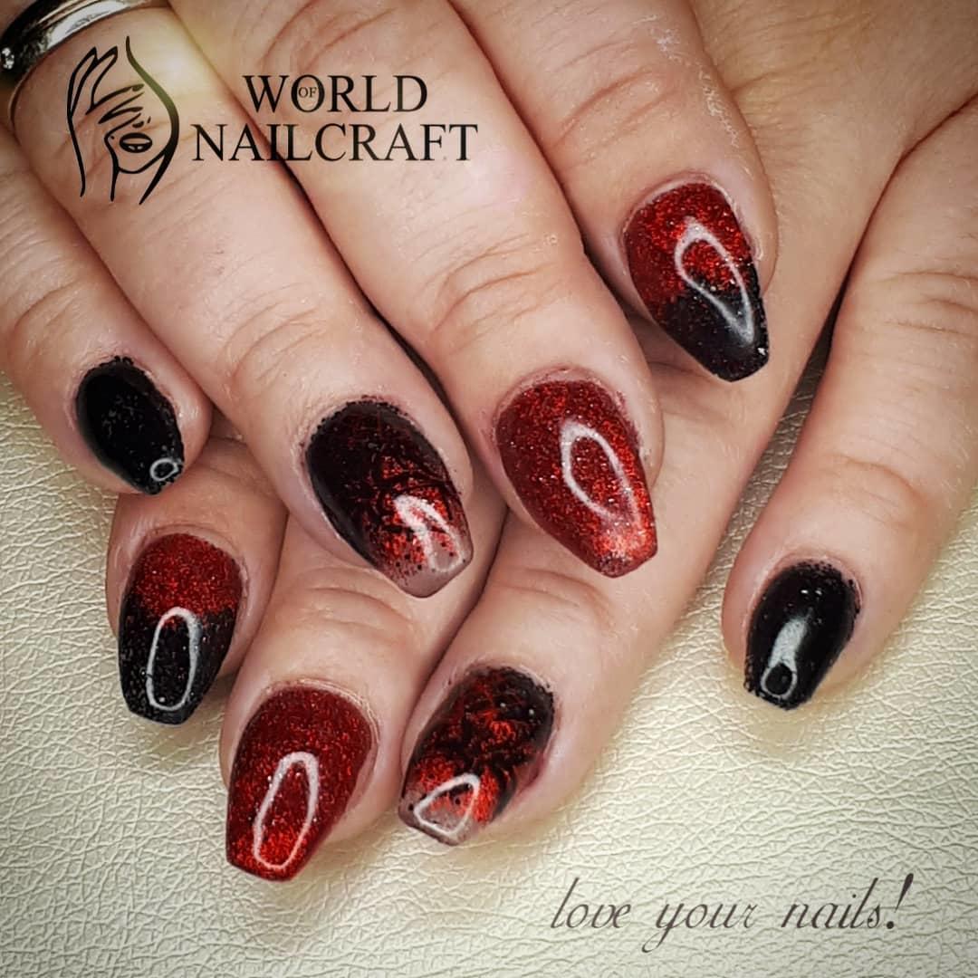 stylish acrylic nail design ideas 2019 7 - Stylish Acrylic Nail Design Ideas 2019