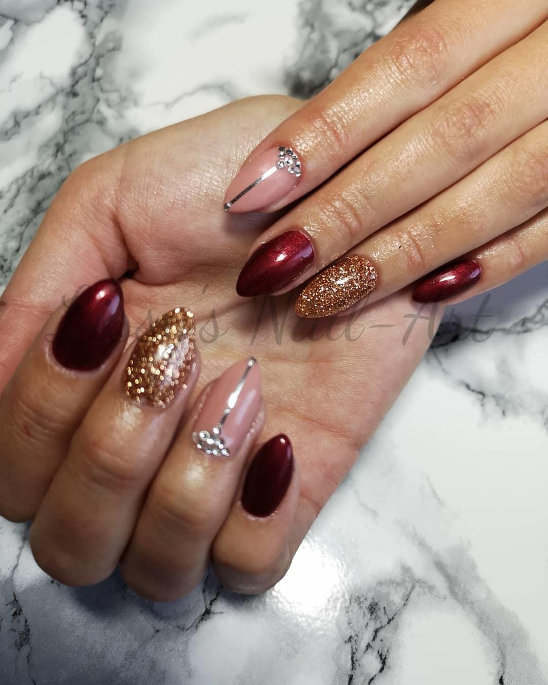 stylish acrylic nail design ideas 2019 8 - Stylish Acrylic Nail Design Ideas 2019