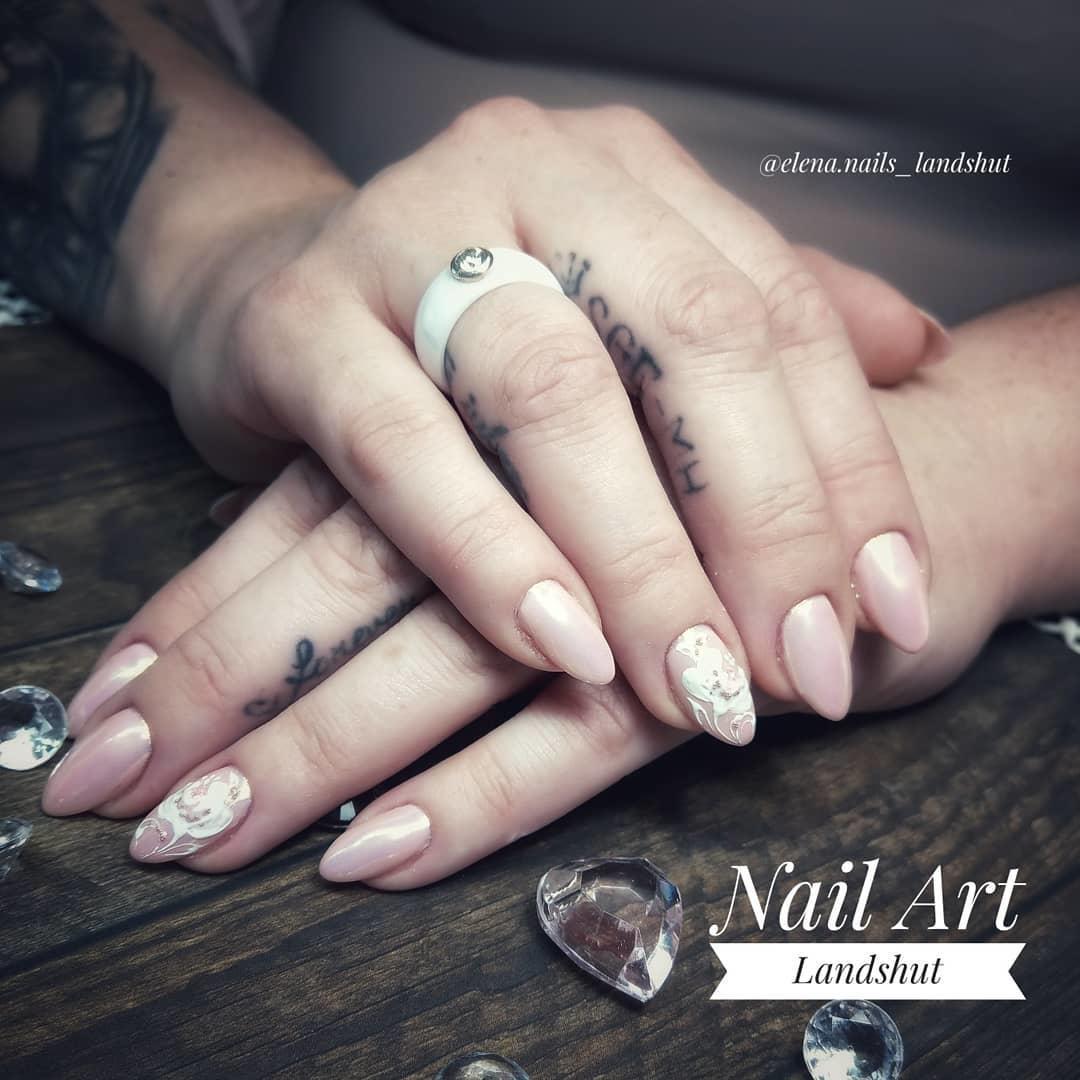 stylish acrylic nail design ideas 2019 9 - Stylish Acrylic Nail Design Ideas 2019