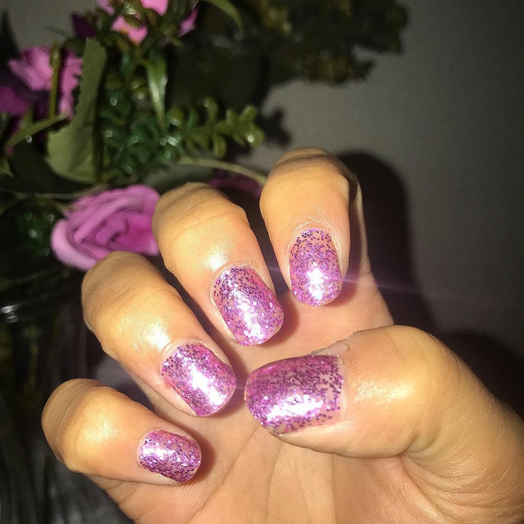 trending glitter nail designs 8 - 19 Trending Glitter Nail Designs for 2019