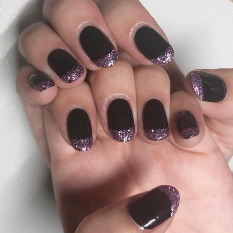trendy black nail art designs and ideas 2019 14 - Trendy Black Nail Art Designs and Ideas 2019