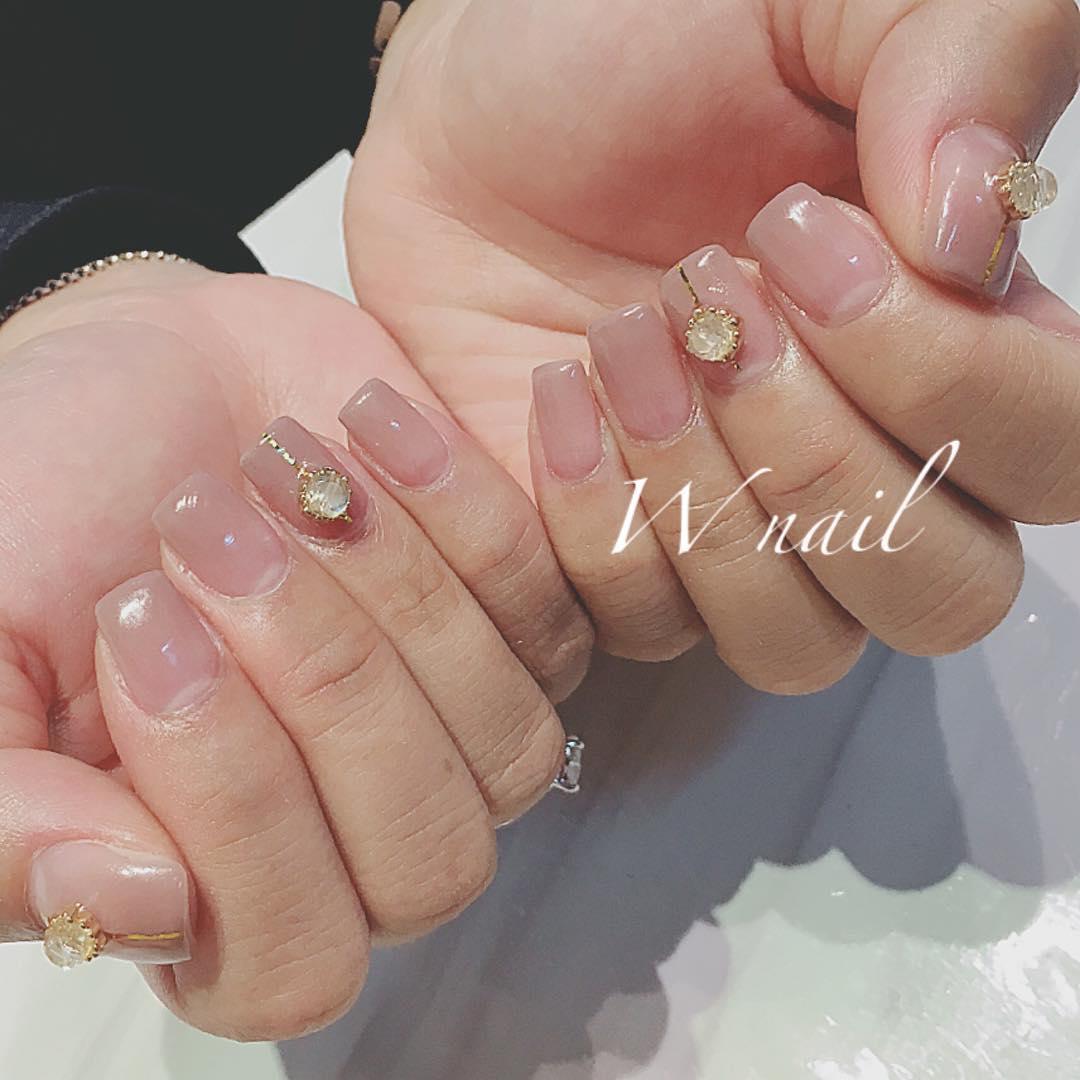 wedding nail designs 11 - 22 Stunning Wedding Nail Designs 2019