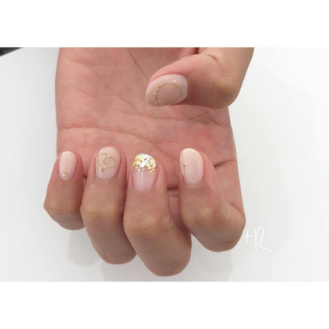wedding nail designs 14 - 22 Stunning Wedding Nail Designs 2019