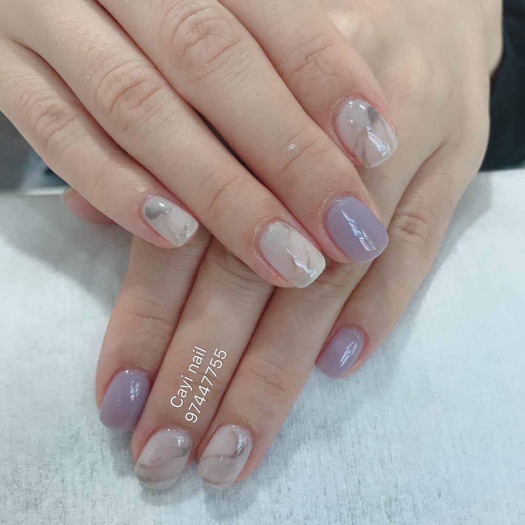wedding nail designs 16 - 22 Stunning Wedding Nail Designs 2019