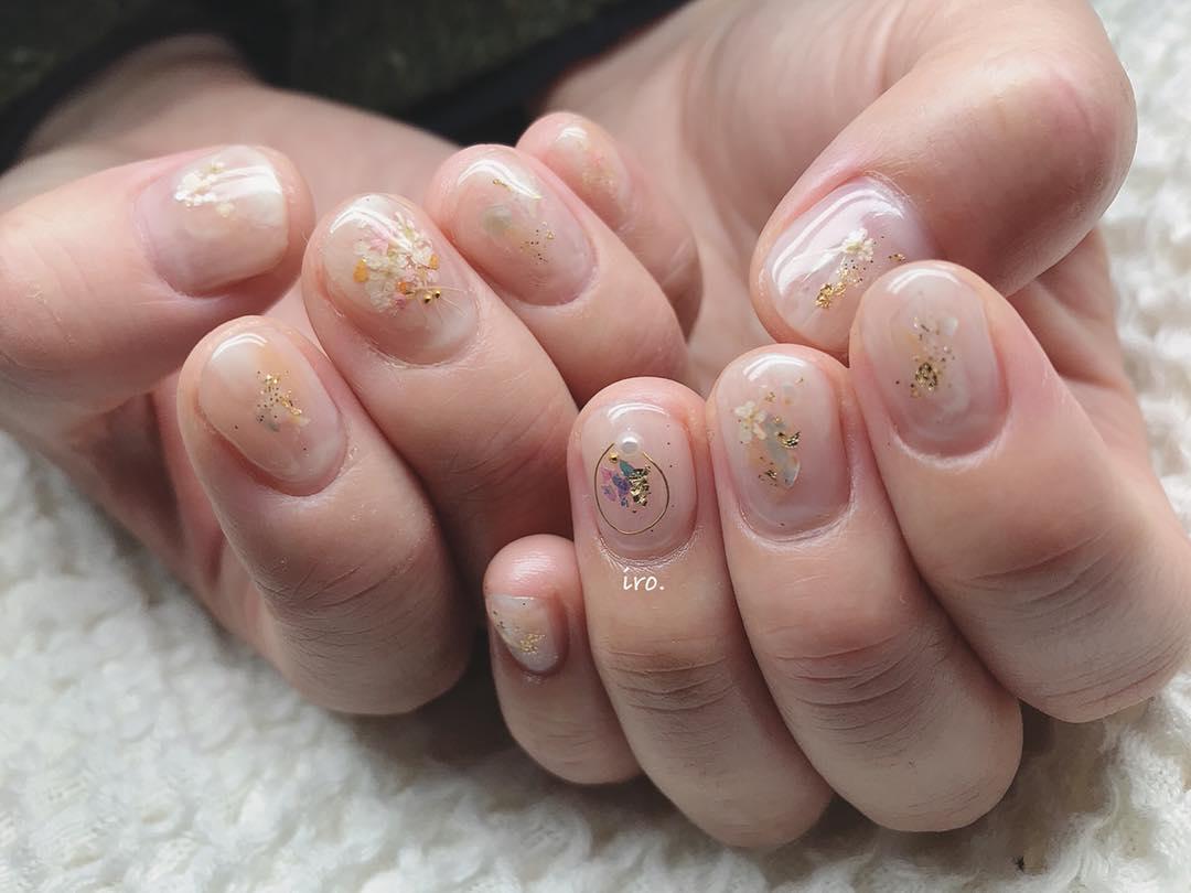 wedding nail designs 21 - 22 Stunning Wedding Nail Designs 2019
