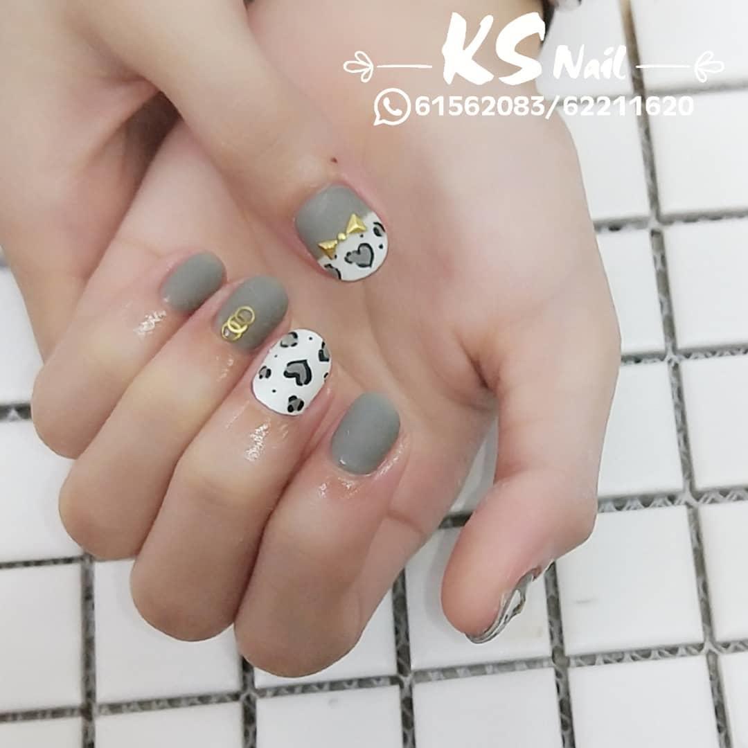 wedding nail designs 3 - 22 Stunning Wedding Nail Designs 2019