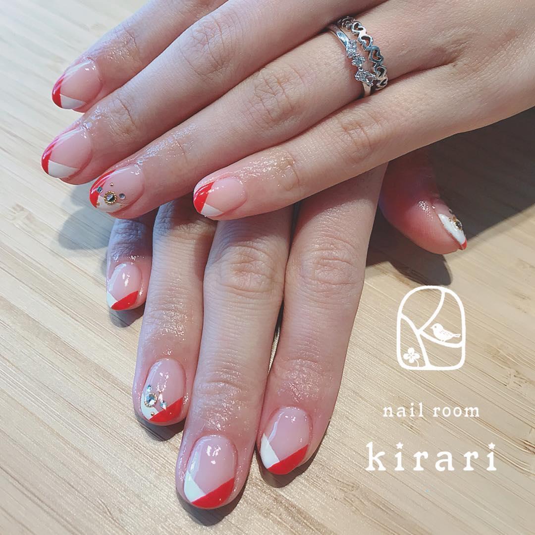 wedding nail designs 5 - 22 Stunning Wedding Nail Designs 2019