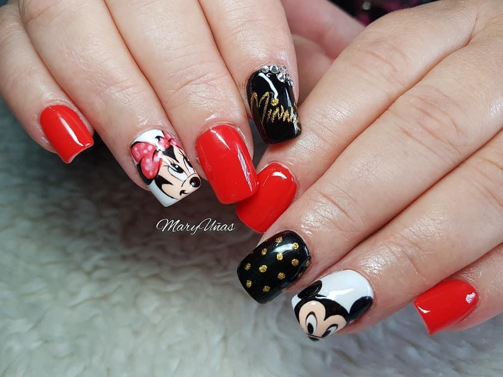 wedding nail designs 6 - 22 Stunning Wedding Nail Designs 2019
