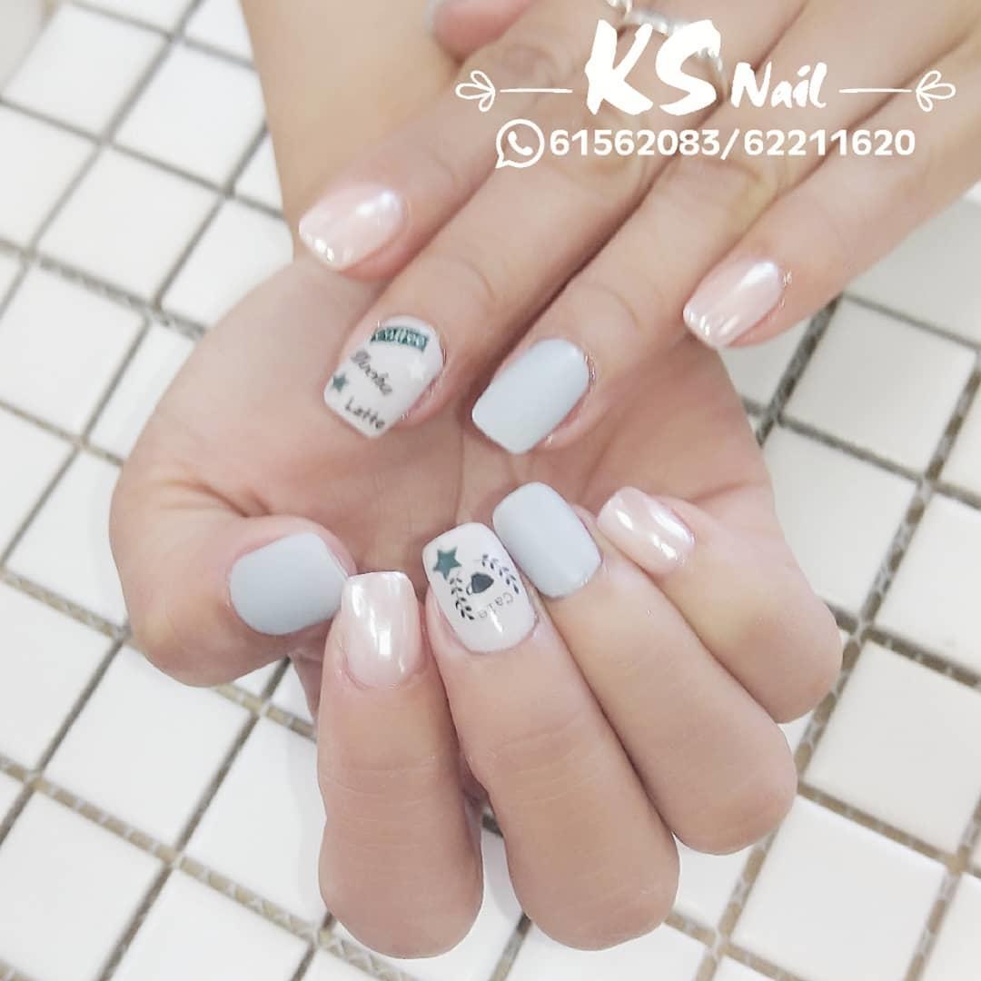 wedding nail designs 7 - 22 Stunning Wedding Nail Designs 2019