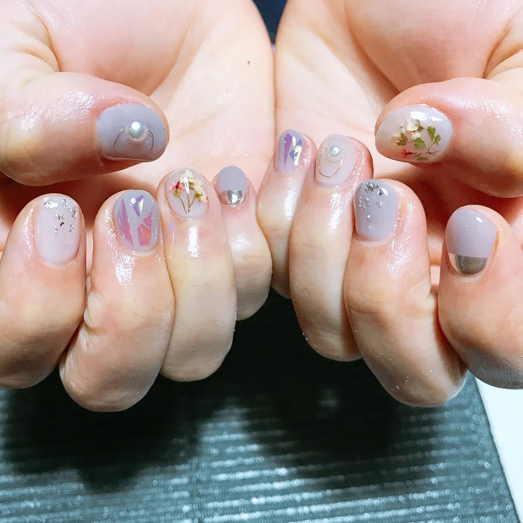 wedding nail designs 8 - 22 Stunning Wedding Nail Designs 2019