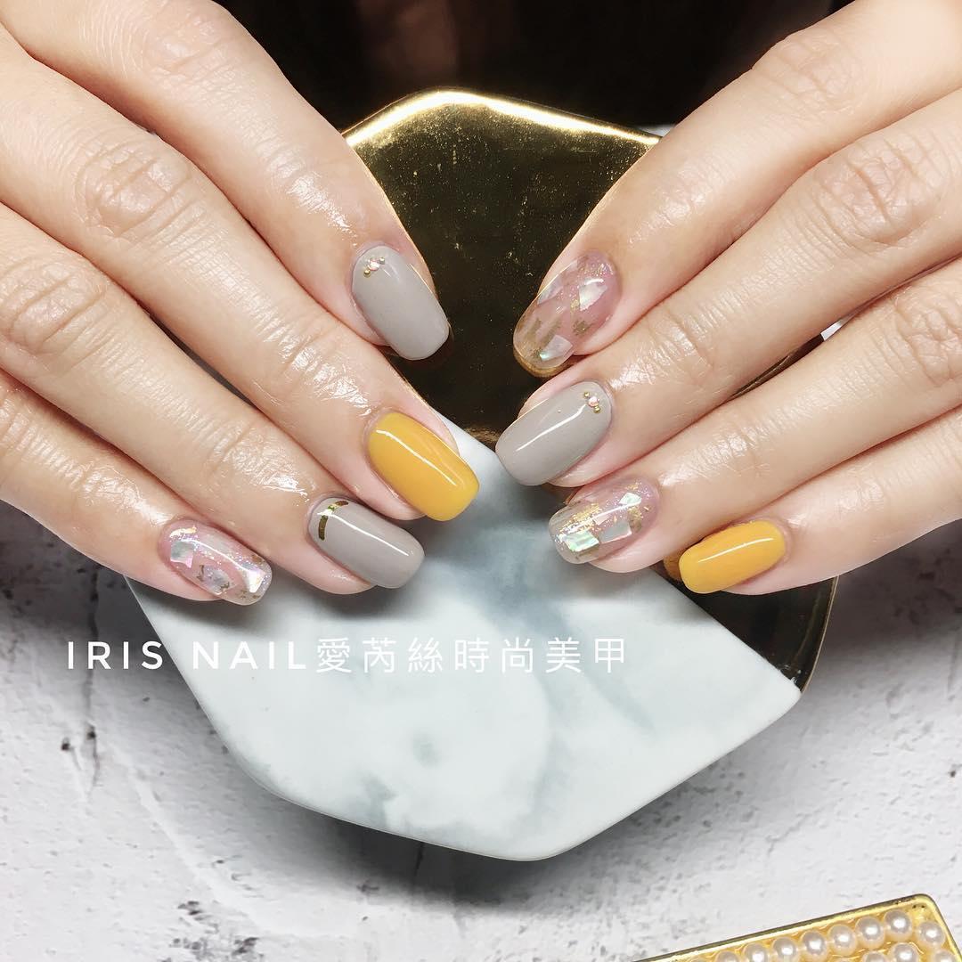 wedding nail designs 9 - 22 Stunning Wedding Nail Designs 2019
