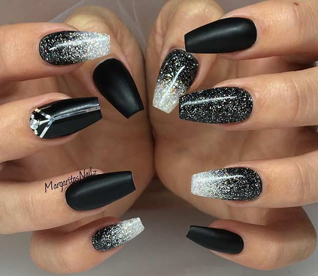 nailss - 2019 New Year's Eve Nail Designs