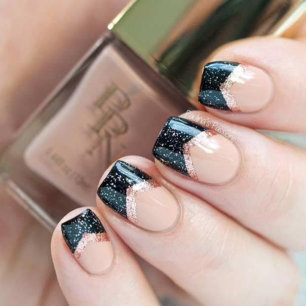 nailsss - 2019 New Year's Eve Nail Designs